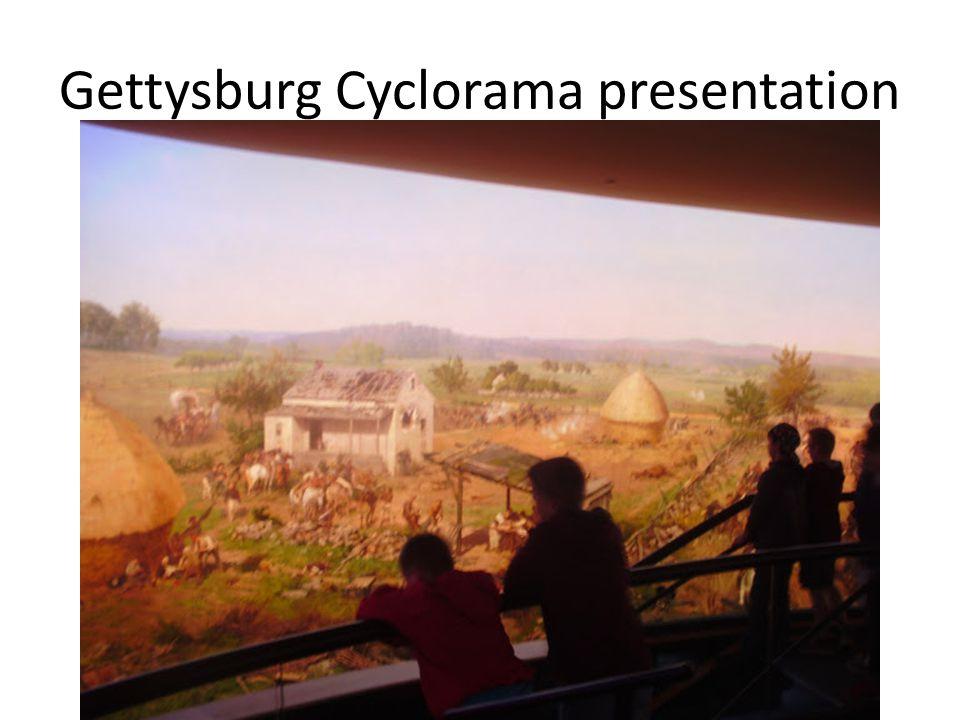Gettysburg Cyclorama presentation