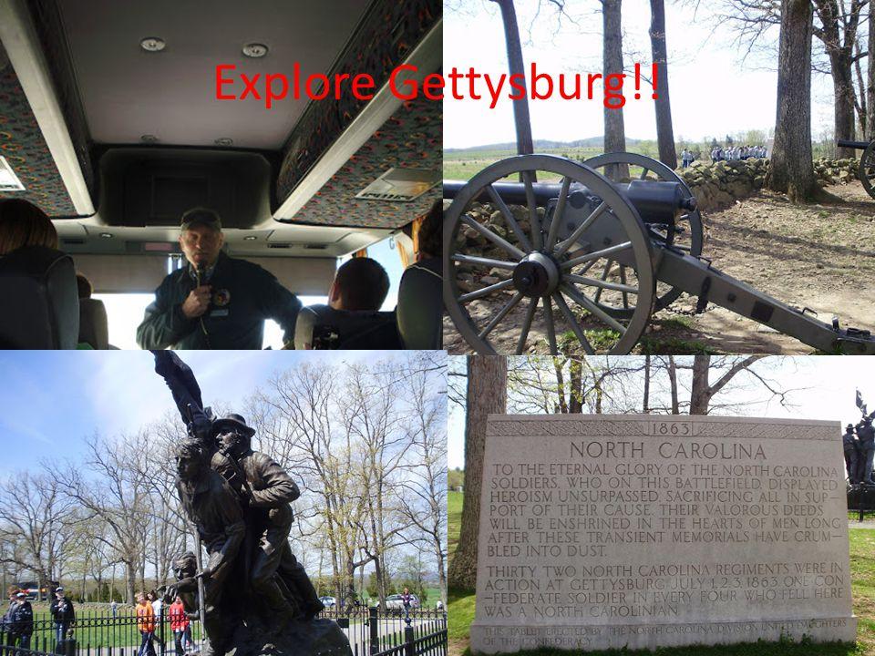 Explore Gettysburg!!
