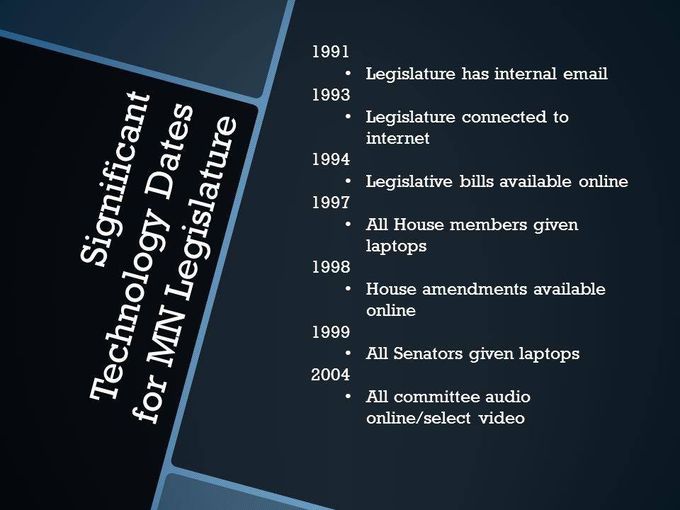 Senate Floor Session: Then and Now Photo Source: David Oakes, MN Senate