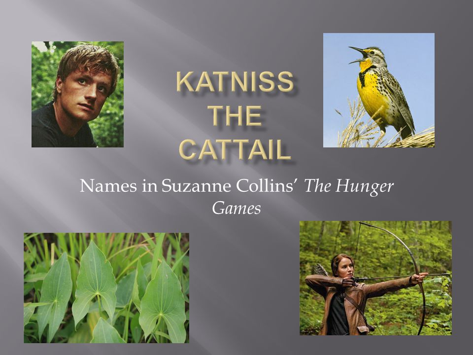 Names in Suzanne Collins' The Hunger Games