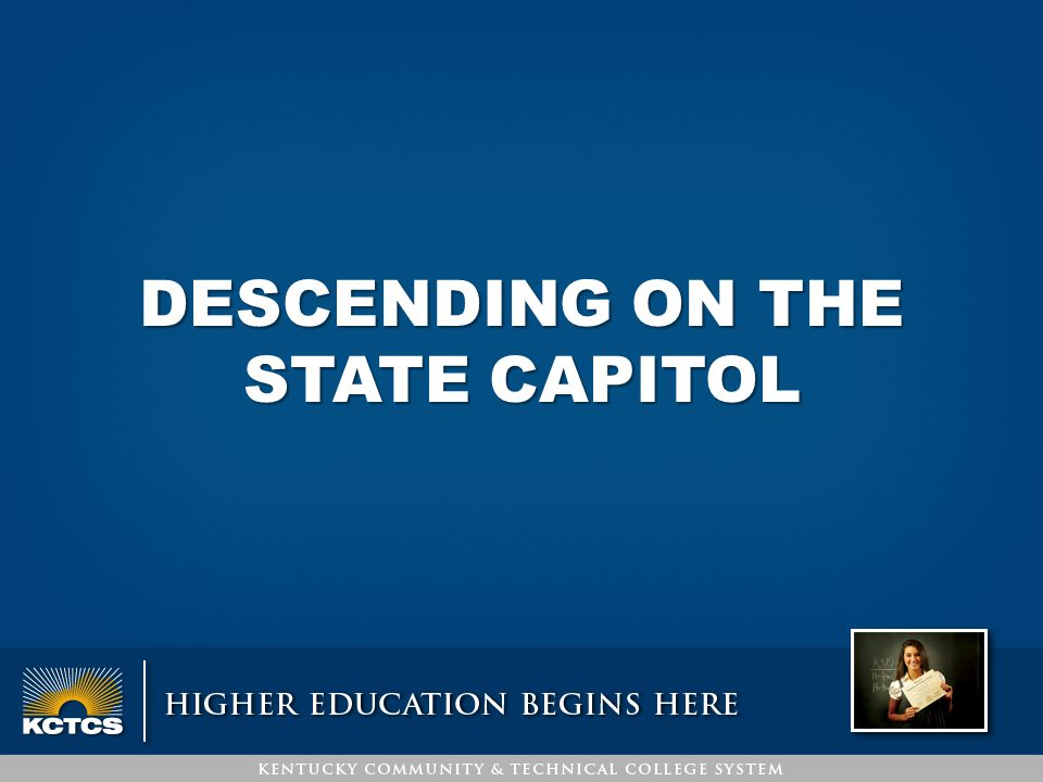 DESCENDING ON THE STATE CAPITOL