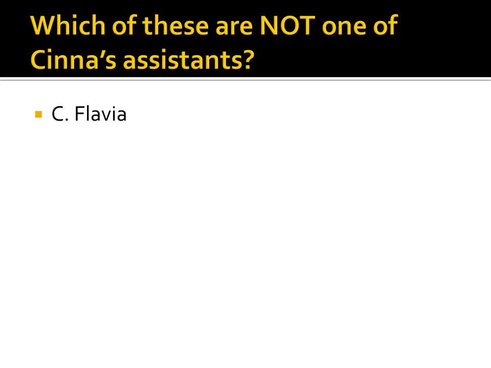  C. Flavia