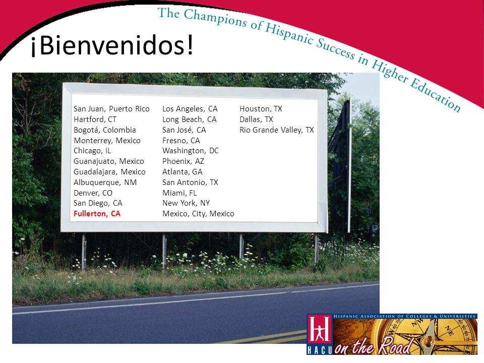 ¡Bienvenidos! San Juan, Puerto Rico Hartford, CT Bogotá, Colombia Monterrey, Mexico Chicago, IL Guanajuato, Mexico Guadalajara, Mexico Albuquerque, NM