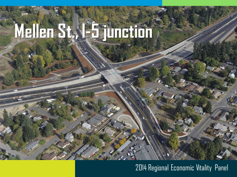 2014 Regional Economic Vitality Panel Mellen St., I-5 junction