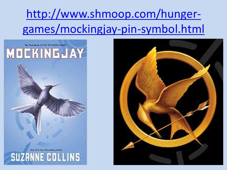 http://www.shmoop.com/hunger- games/mockingjay-pin-symbol.html