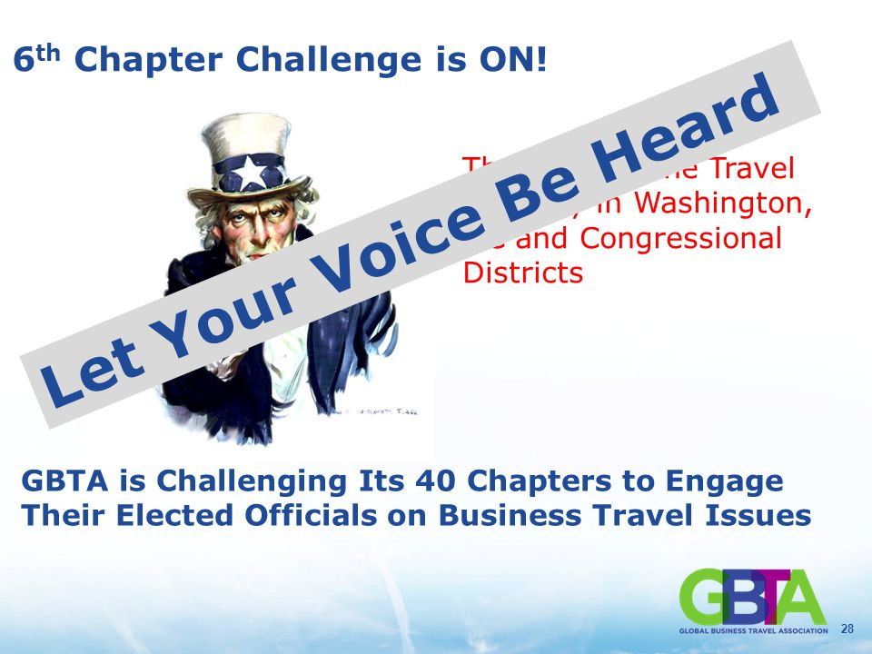 28 6 th Chapter Challenge is ON.