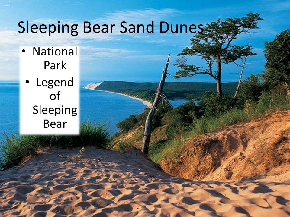Sleeping Bear Sand Dunes National Park Legend of Sleeping Bear