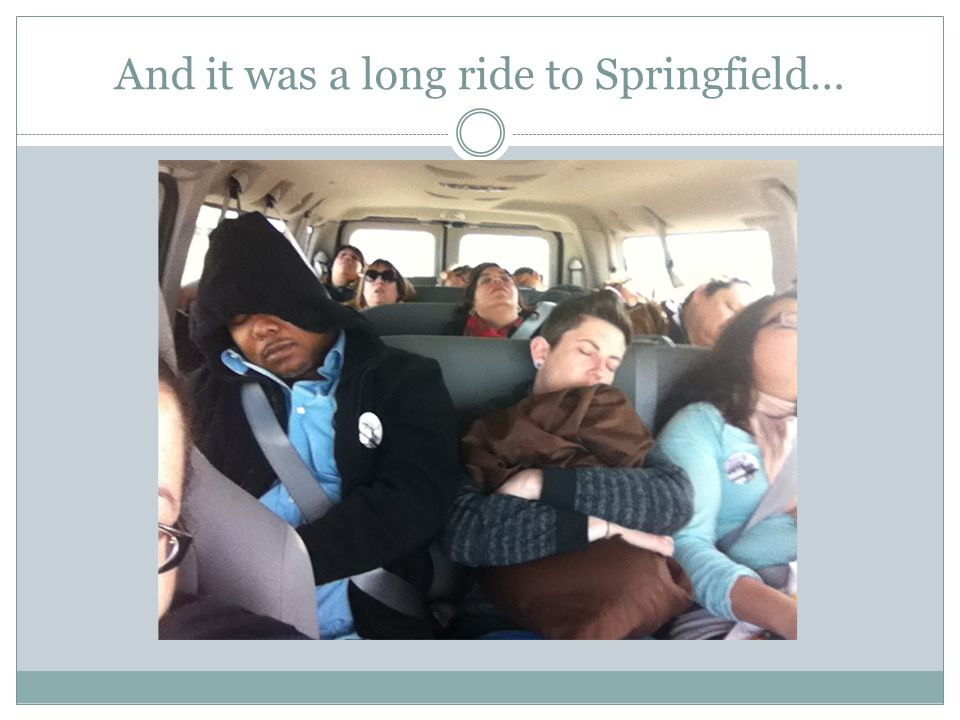 And it was a long ride to Springfield…