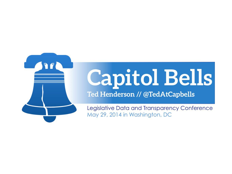 Legislative Data & Transparency —> Powerful Apps