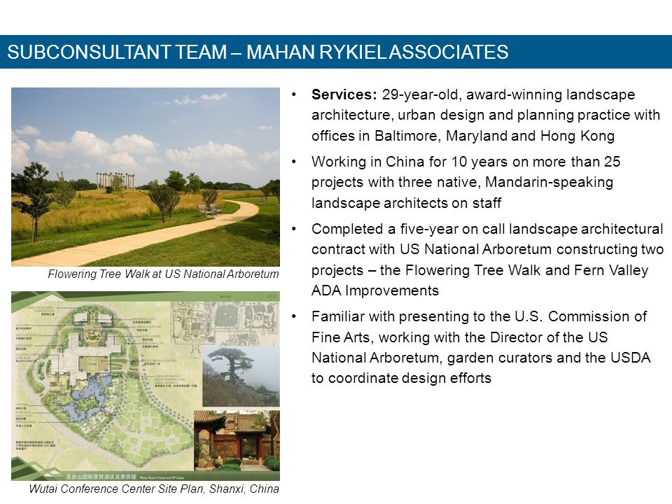SUBCONSULTANT TEAM Protection Engineering Group – Fire Protection, Life Safety and Code Consulting, Security Full-service engineering firm with offices in Chantilly, VA, Baltimore, MD, and Atlanta, GA Successful completion of notable cultural, museum, monumental, and national historic landmark projects: Smithsonian Institution – various facilities, National Park Service historic Washington Canoe Club, National Park Service Mary McLeod Bethune Council Thornton Tomasetti, Inc.