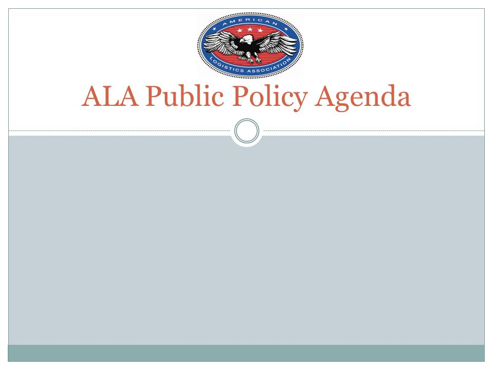 ALA is full partner in protecting benefit Educate major public policy makers on importance of benefit Industry has huge stake in commissary viability Meetings, June 15 th forum—Capitol Hill Authorizing and appropriations committees