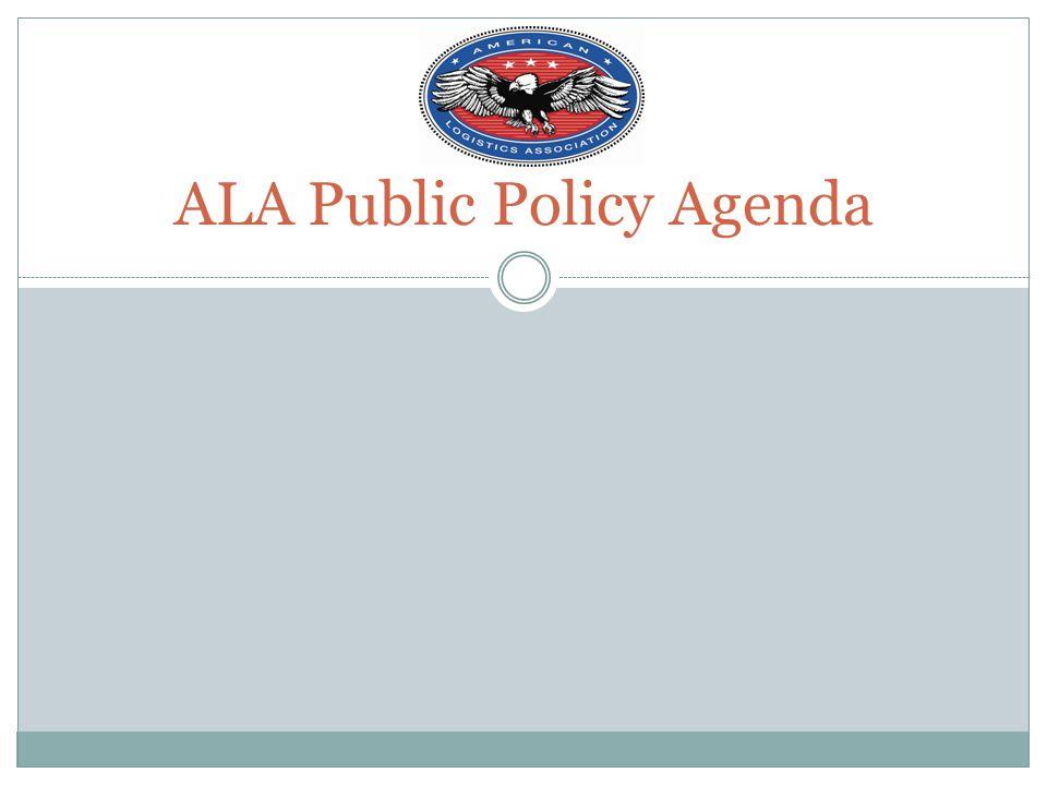 ALA Public Policy Agenda