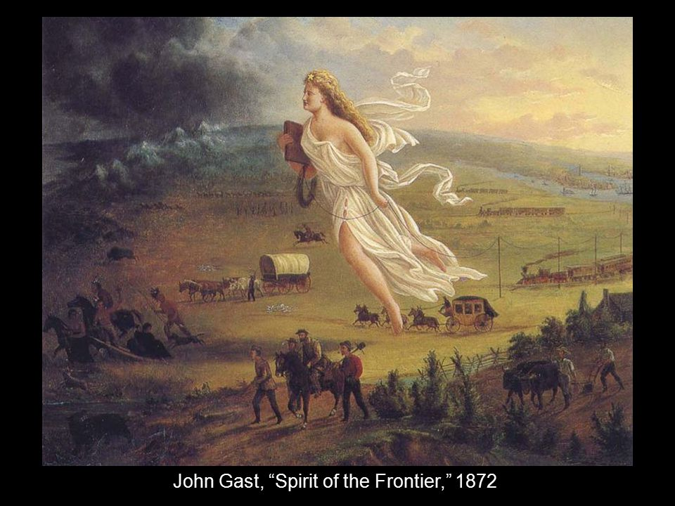 John Gast, Spirit of the Frontier, 1872