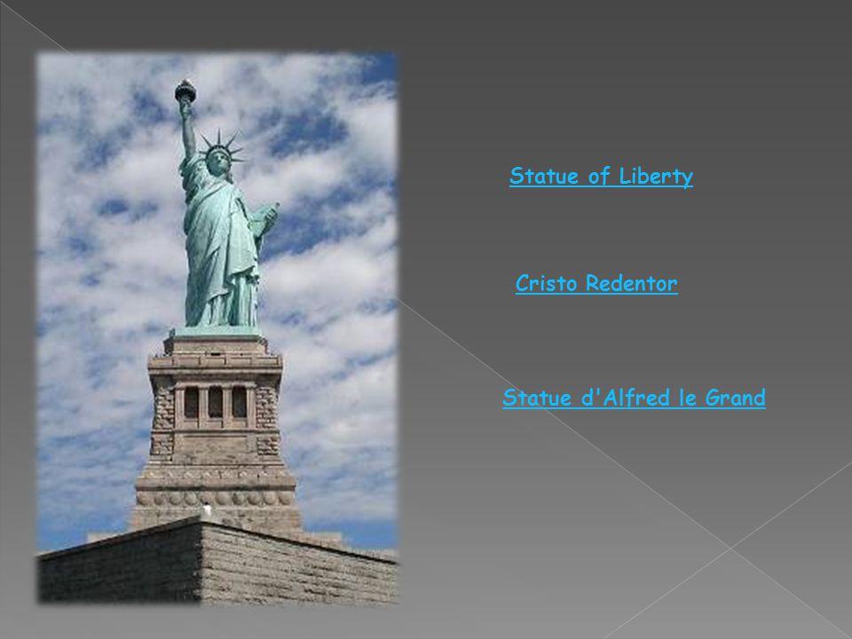 Statue of Liberty Cristo Redentor Statue d Alfred le Grand