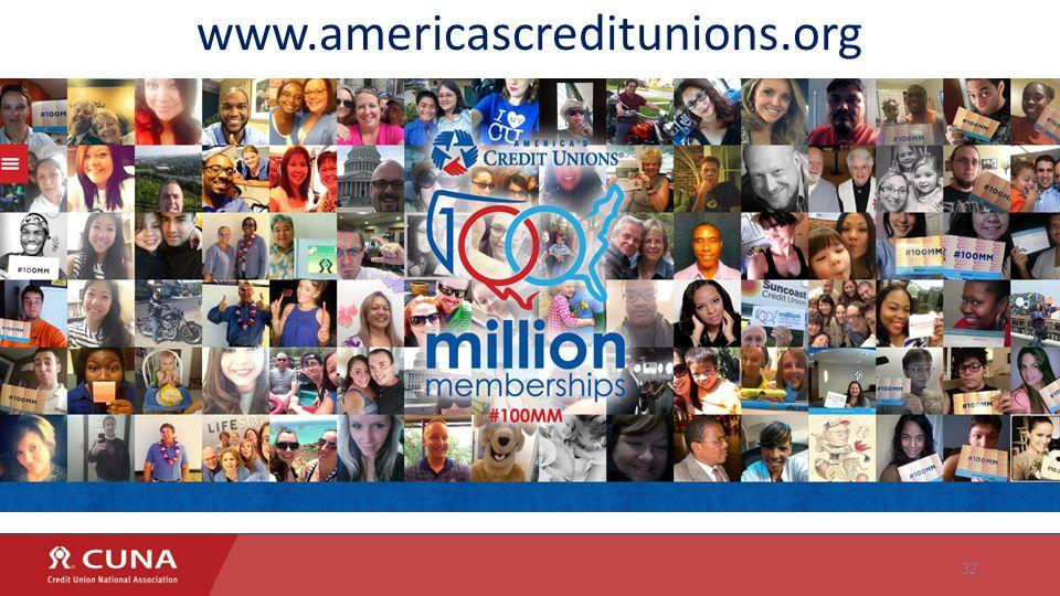 32 www.americascreditunions.org