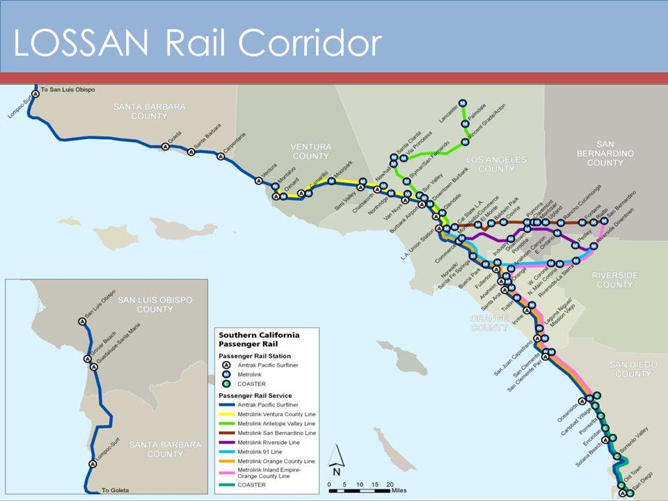 LOSSAN Rail Corridor