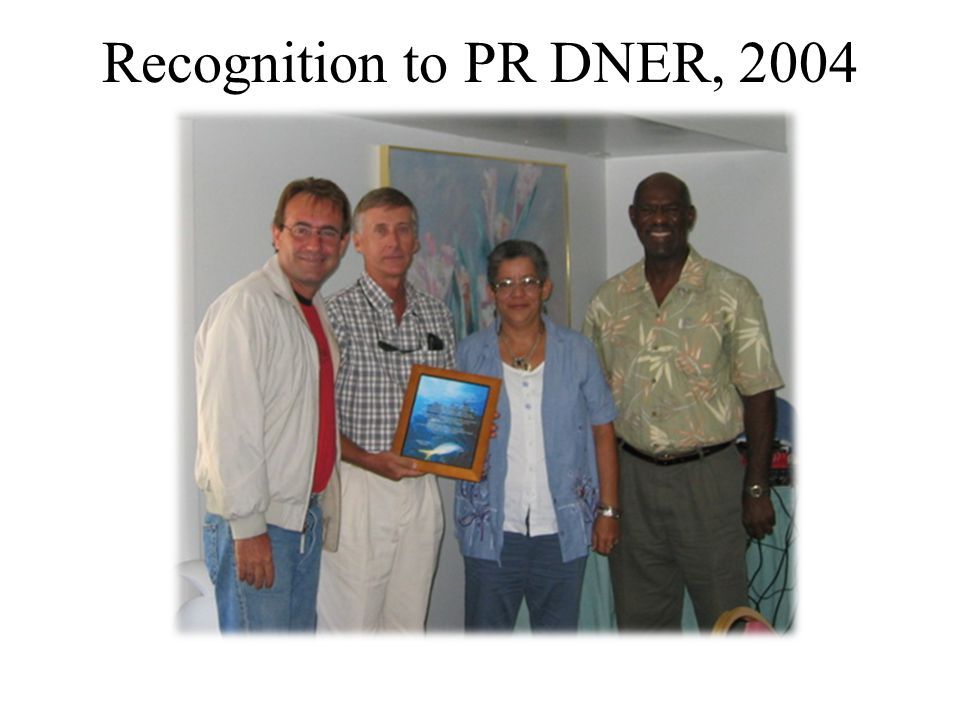 Recognition to PR DNER, 2004