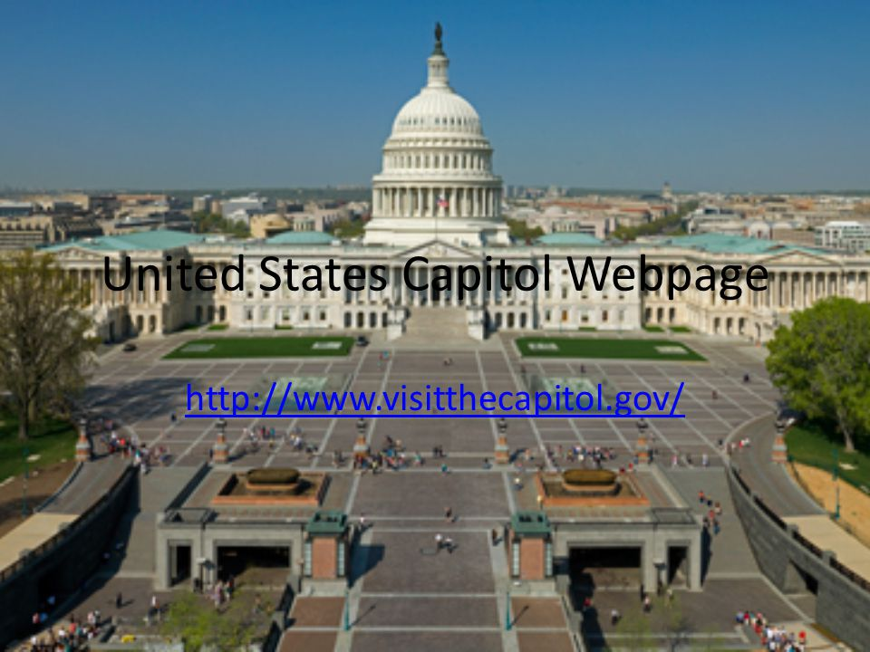 United States Capitol Webpage http://www.visitthecapitol.gov/