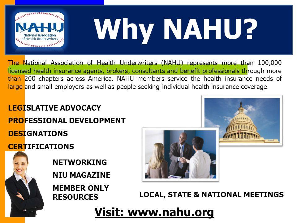 Why NAHU.