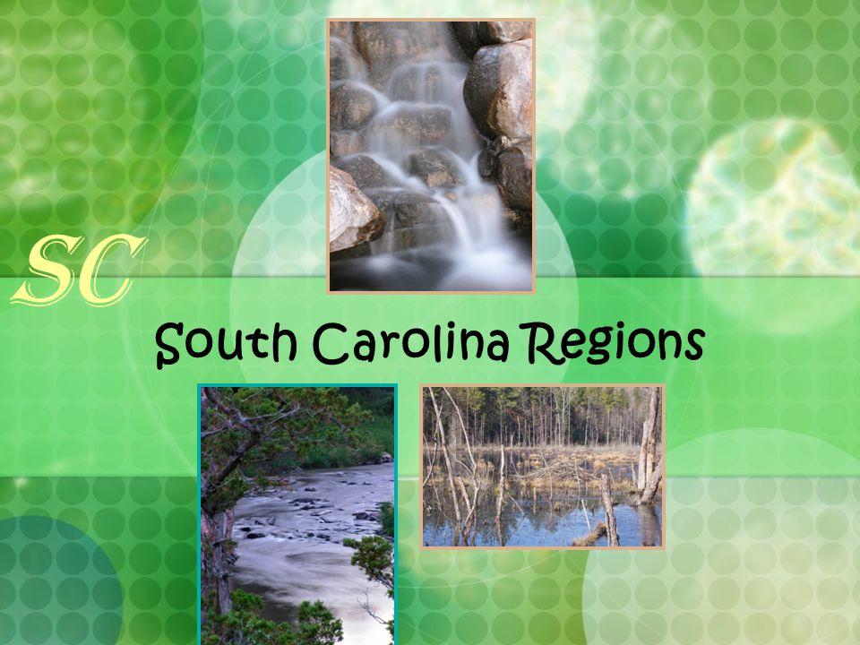 South Carolina Regions SC