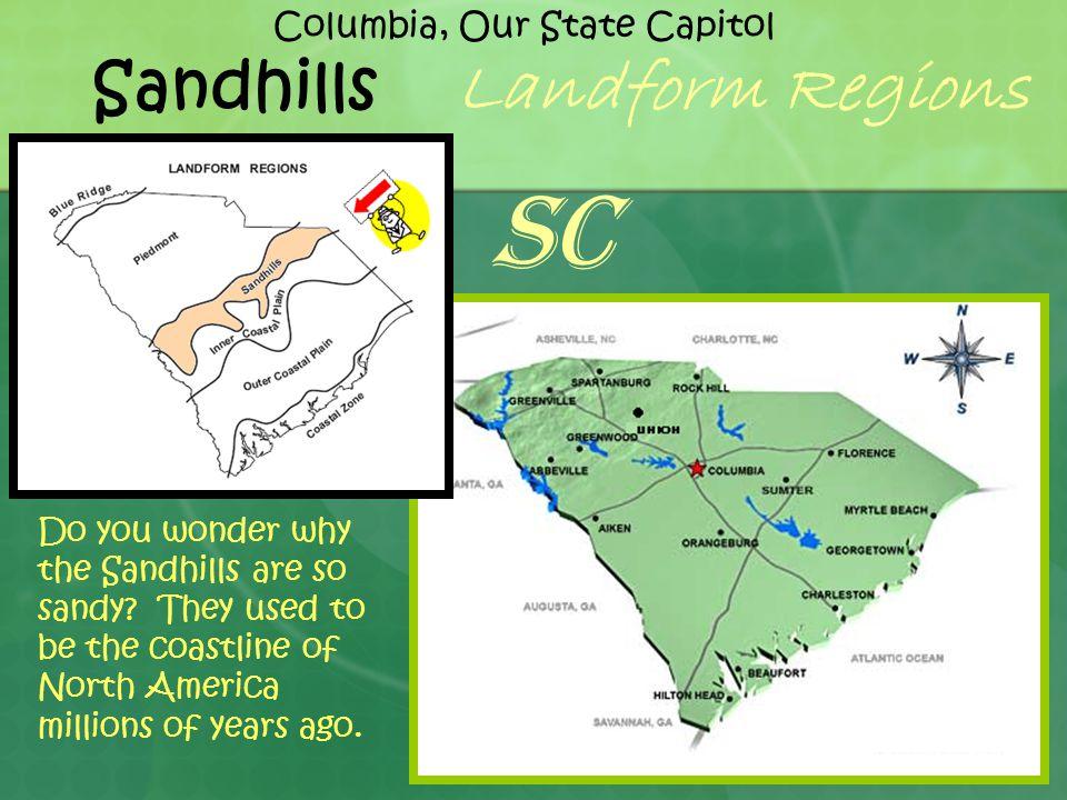 Sandhills Landform Regions Do you wonder why the Sandhills are so sandy.