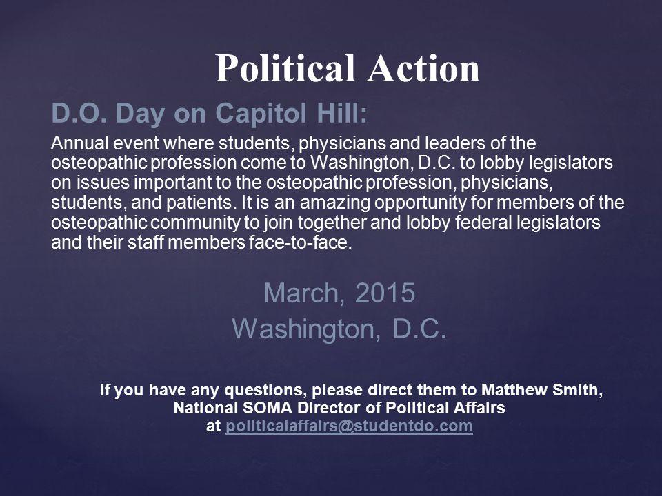 Political Action D.O.