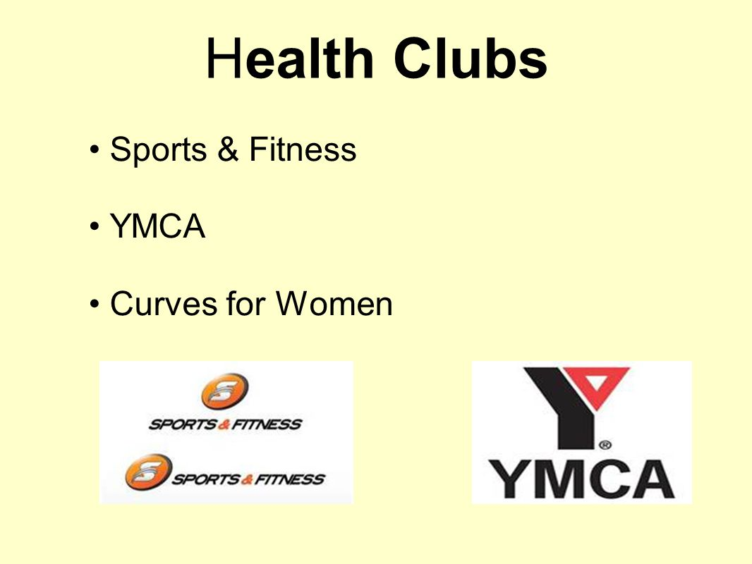 Health Clubs Sports & Fitness YMCA Curves for Women