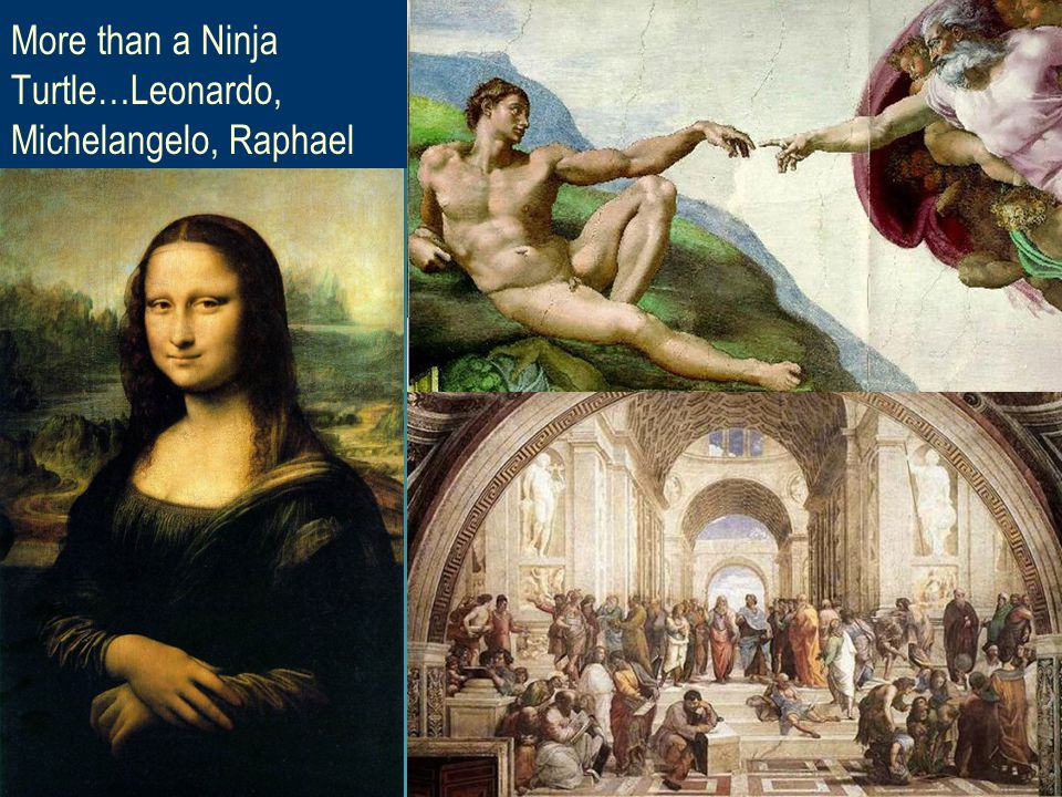 20 More than a Ninja Turtle…Leonardo, Michelangelo, Raphael #26 thru 28