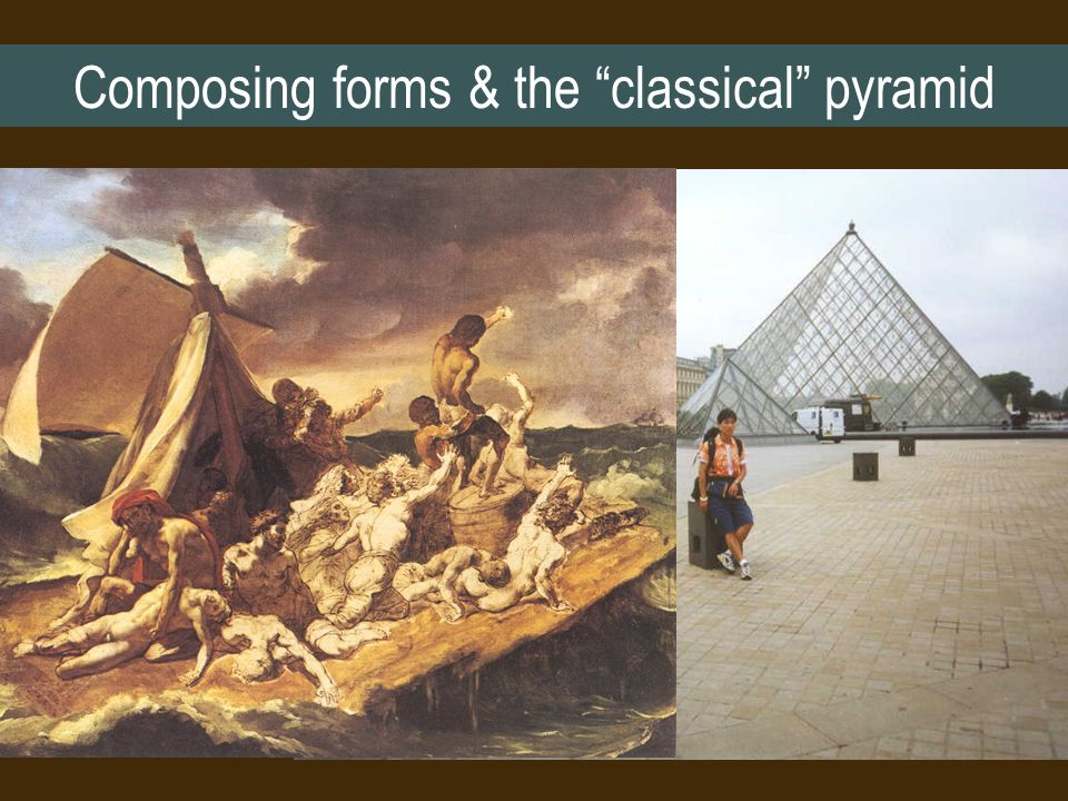 Composing forms & the classical pyramid