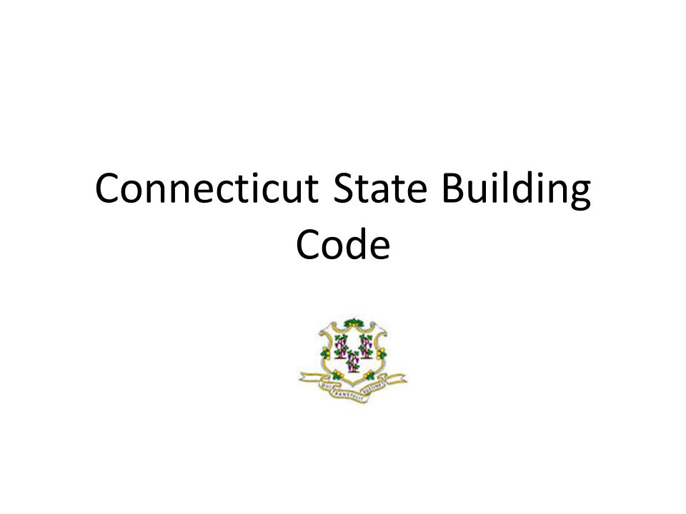 TOPICS Update on the Current Code Adoption Code Adoption Process Appeals Process Services from the Office of the State Building Inspector Discussion / Questions