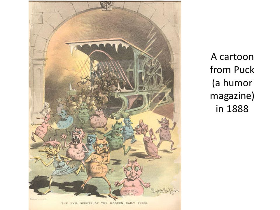 A cartoon from Puck (a humor magazine) in 1888