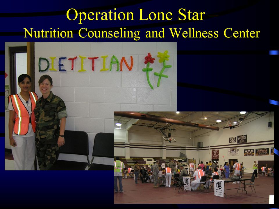 Operation Lone Star – Nutrition Counseling and Wellness Center