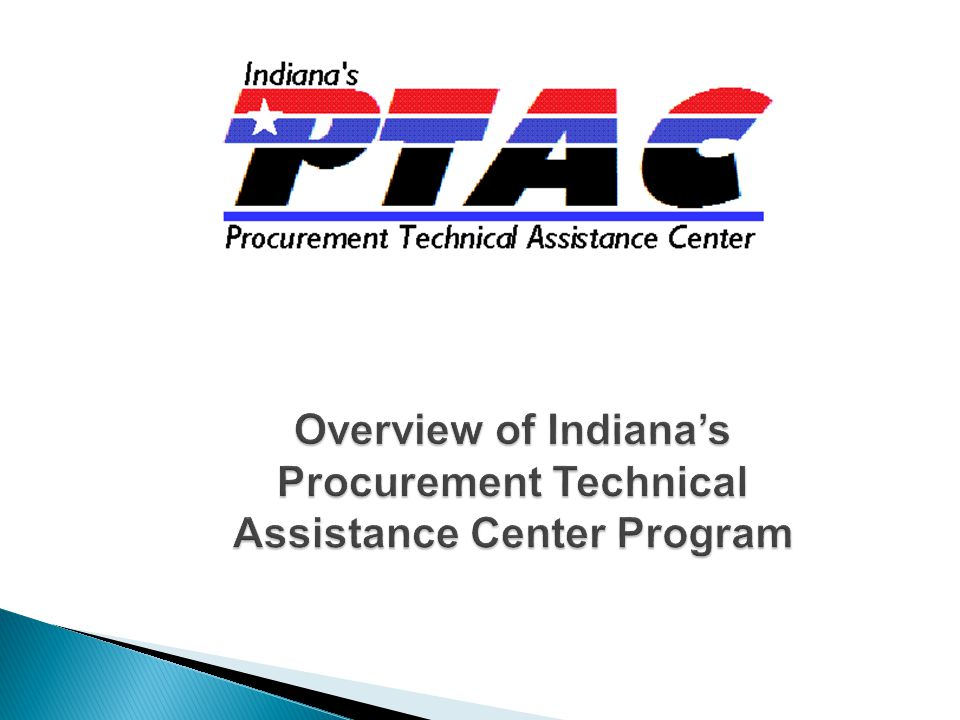 2 In 1985, the Defense Logistics Agency (DLA) initiated The Procurement Technical Assistance Cooperative Agreement Program in order to increase competition for small businesses to sell products and services to the Department of Defense (DoD).
