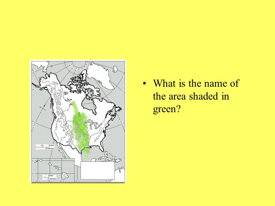 What is the name of the area shaded in green?