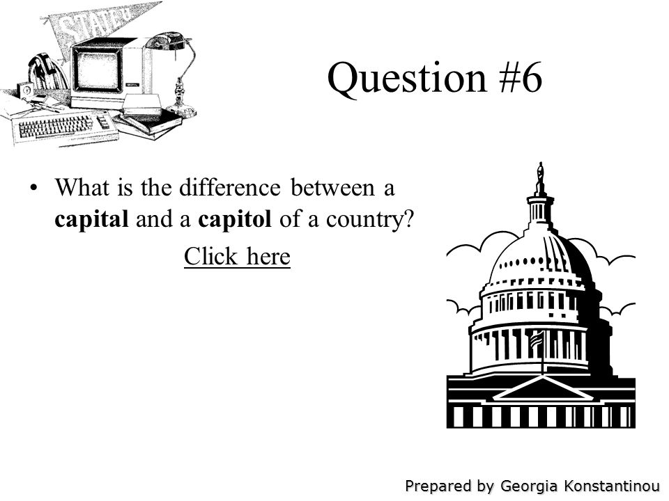 Prepared by Georgia Konstantinou Question #7 What is your understanding of the differences between Thomas Jefferson s ideas and Alexander Hamilton s ideas.