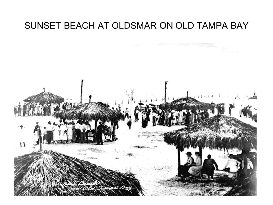 SUNSET BEACH AT OLDSMAR ON OLD TAMPA BAY