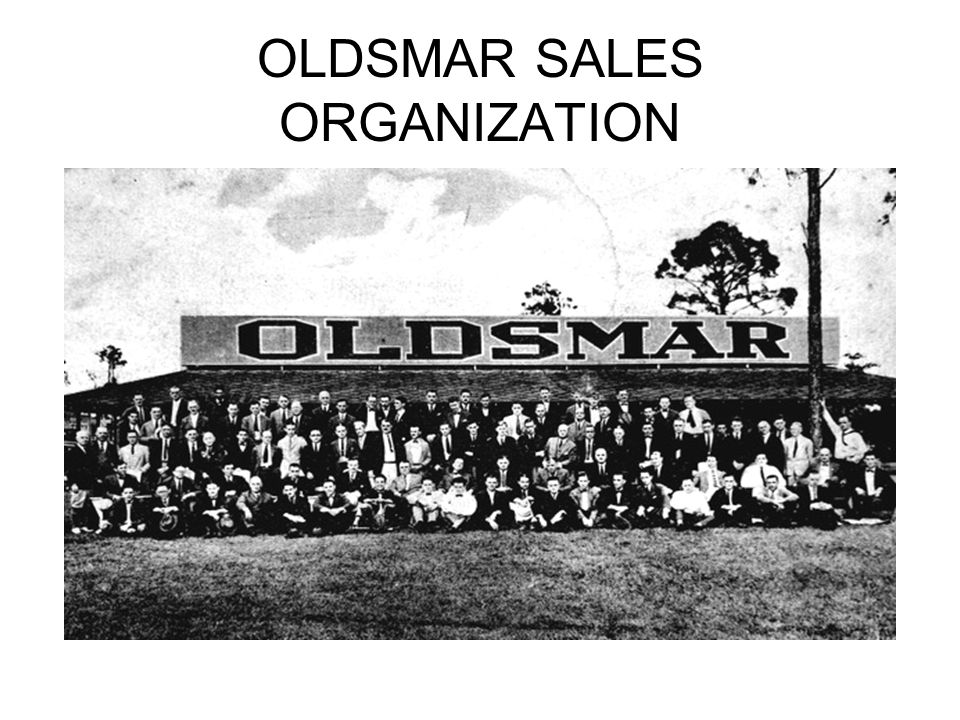 OLDSMAR SALES ORGANIZATION