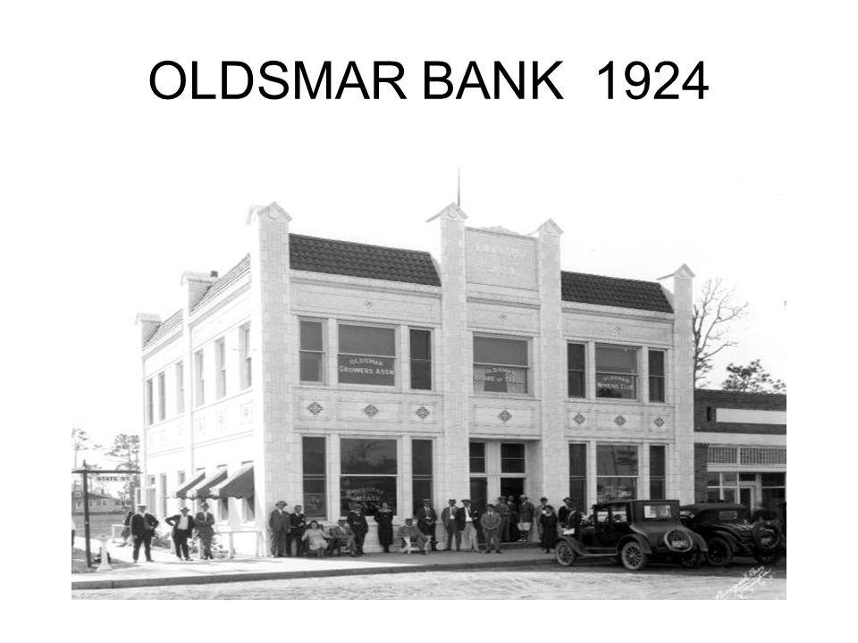 OLDSMAR BANK 1924