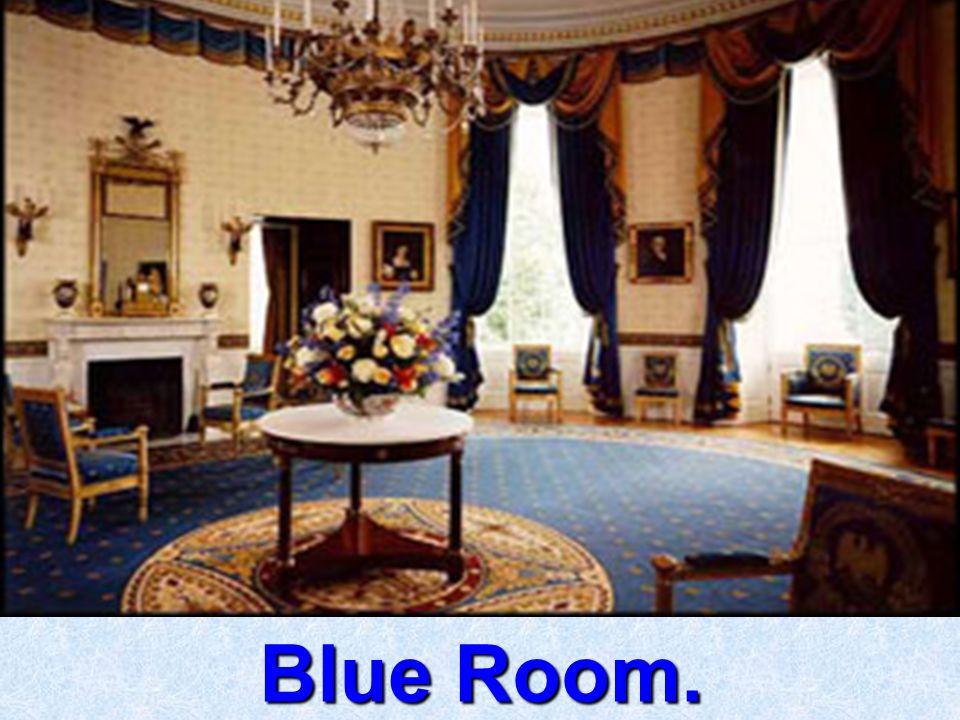 Blue Room. Blue Room.