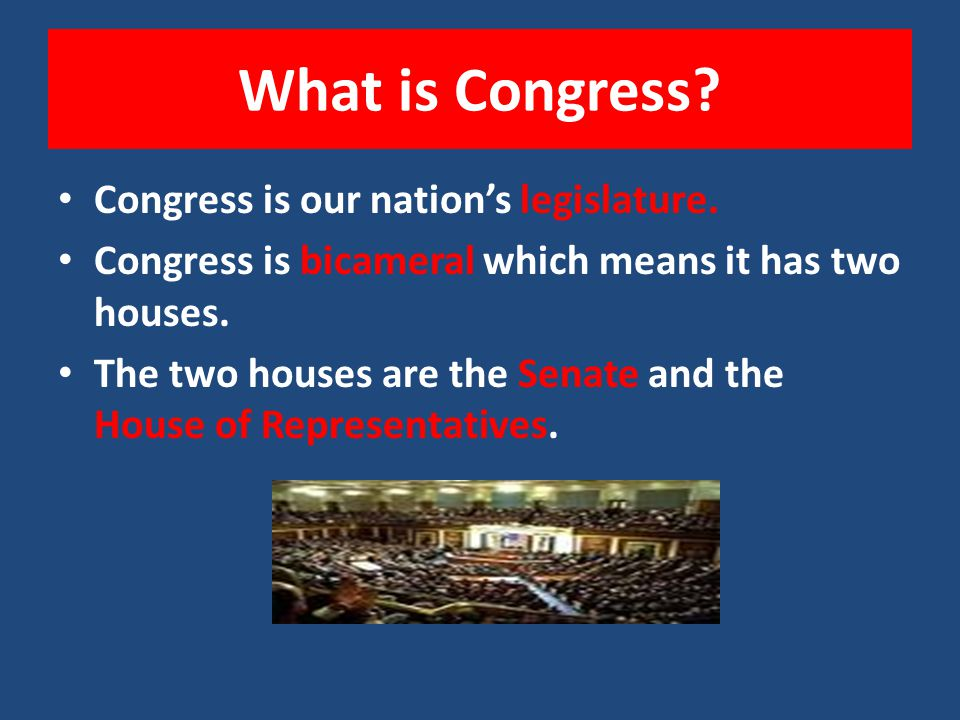 What is the Legislative Branch? The Legislative Branch is outlined in Article I of the United States Constitution. Our national legislature is called