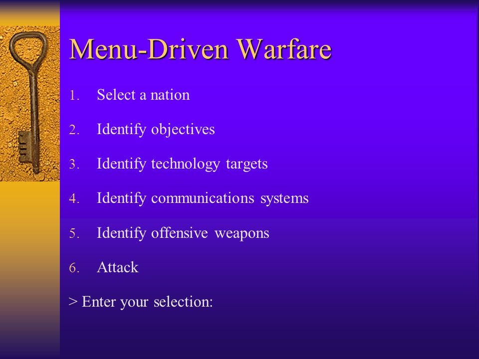Cyber Warfare  In the U.S., more than 95% of military communications are conducted over commercial systems (phone, fax, Internet, NIPRNET, SIPRNET, s