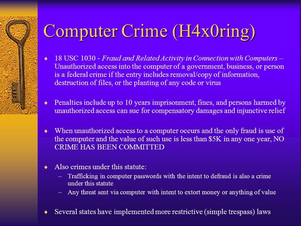 Economic Espionage  18 USC 1831 - Economic Espionage Act of 1996 – Obtaining a trade secret from a U.S.