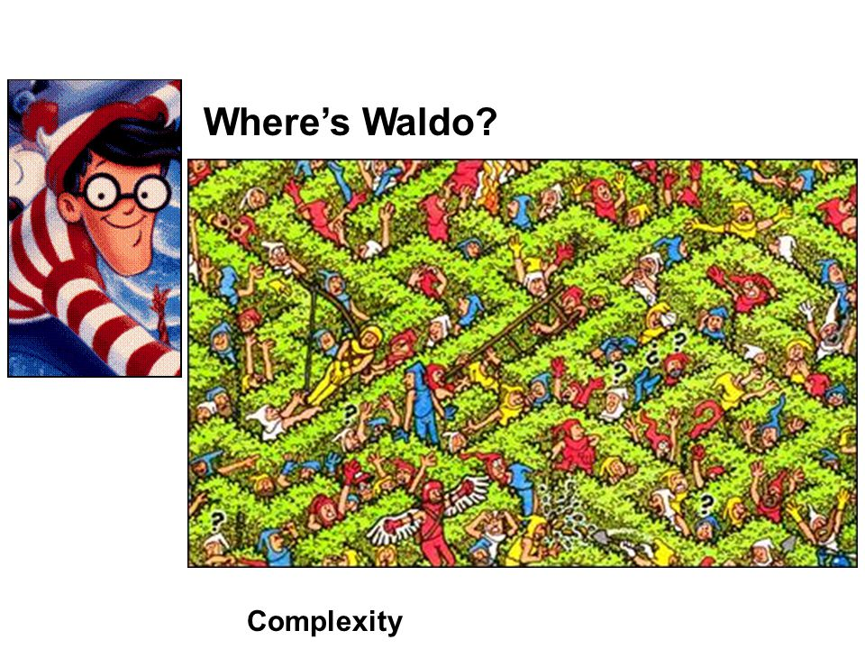 Where's Waldo Complexity