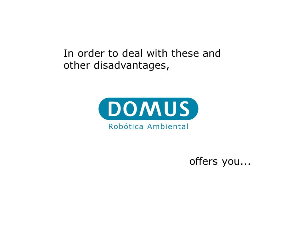 In order to deal with these and other disadvantages, offers you...