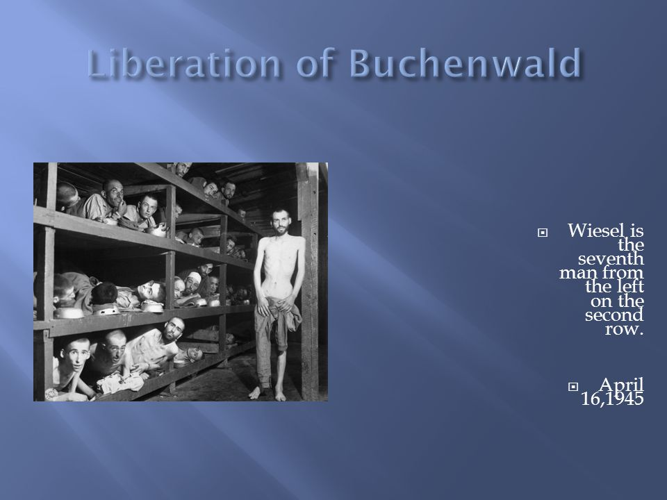 This took place around the time when Elie Wiesel arrived at Auschwitz.