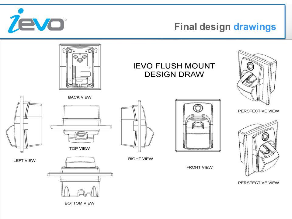 Final design drawings