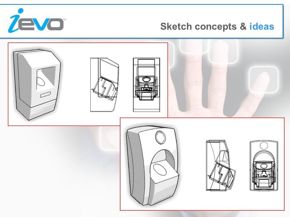 Sketch concepts & ideas