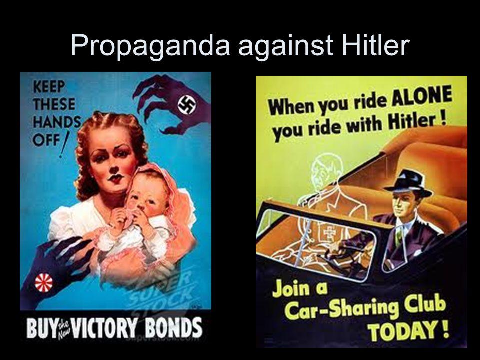 Propaganda against Hitler