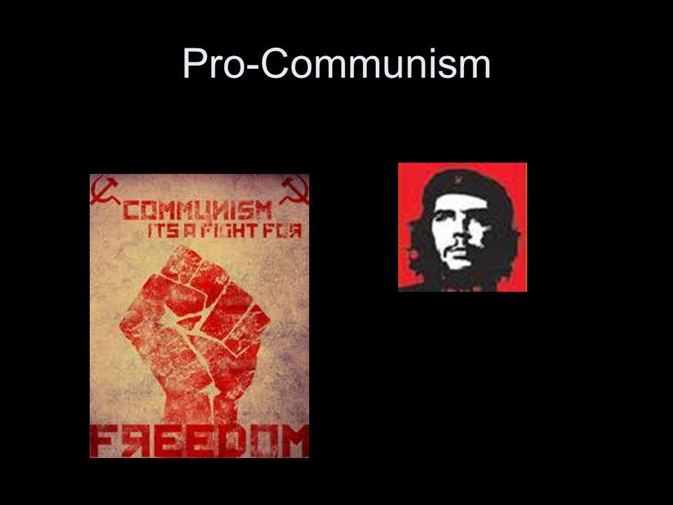 Pro-Communism