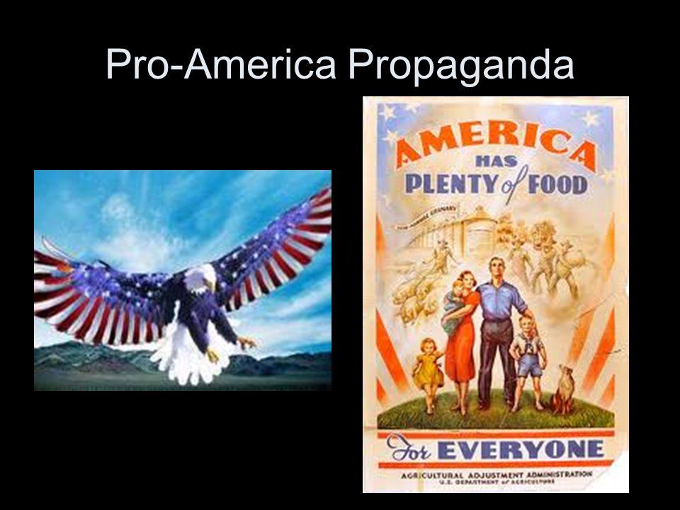 Pro-America Propaganda